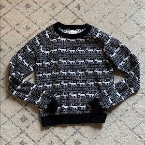 Levi's vintage deer Christmas sweater small